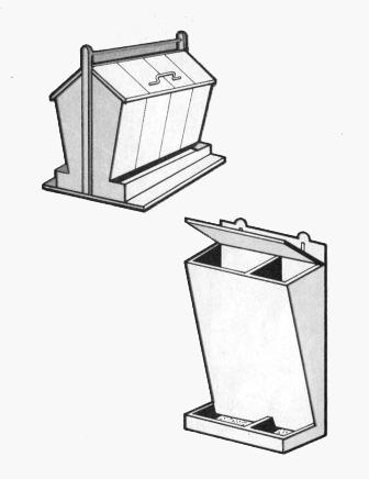 Бункерная кормушка своими руками чертежи