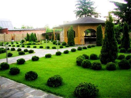 Ландшафтный дизайн частного и загородного дома