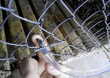 Делаем поилки для кроликов своими руками