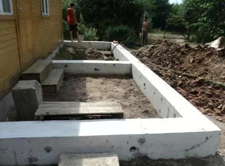 Как построить веранду своими руками к дому