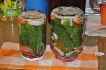 Маринованные огурцы пошаговый рецепт с фото
