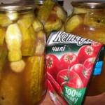 Огурцы с кетчупом чили торчин супер рецепт
