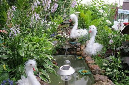 Делаем поделки в сад огород