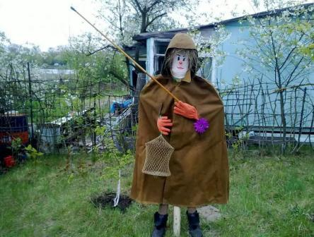 Пугало огородное своими руками мастер класс