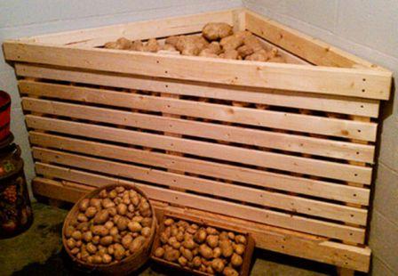 ящик для хранения картошки