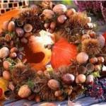 Осенние поделки из даров природы
