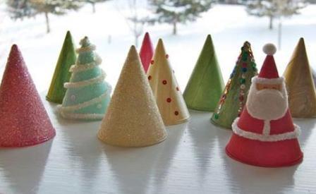 Плоскостные поделки из фантиков от конфет
