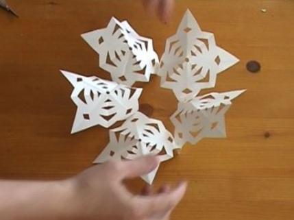 снежинка 3D_5