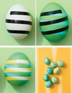 яйца с узорами