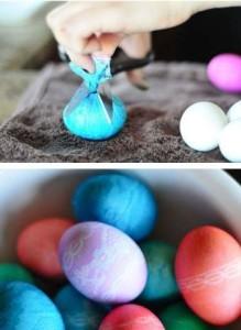 Кружевные яйца фото