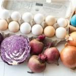 Красители для пасхальных яиц из натуральных продуктов