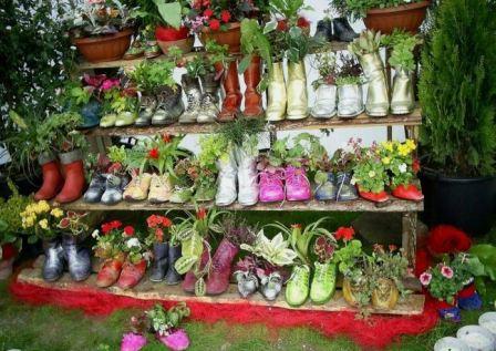 Оформление клумб и цветников своими руками фото