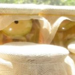Кабачки с кетчупом чили