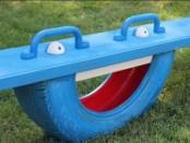 детская площадка из шин своими руками