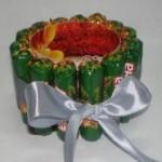 Что можно сделать в подарок к новому году для детей из конфет