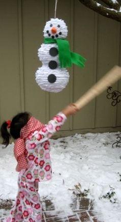 Как сделать снеговика из гофрированной бумаги.