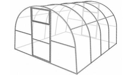 Проект теплицы арочной формы