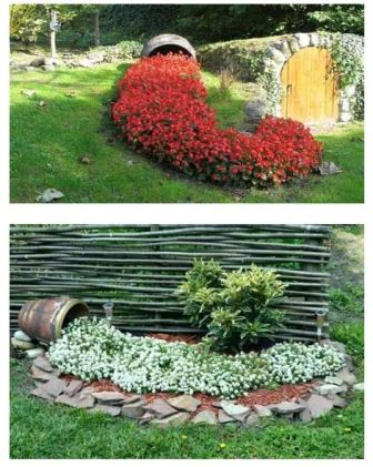 цветочный ручей, фото