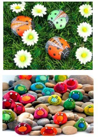 садовые поделки из камня