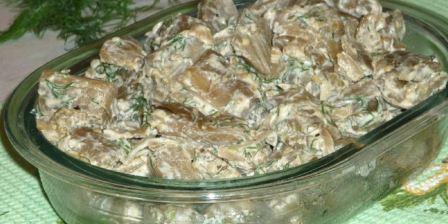 Баклажаны как грибы жареные, вкусно и быстро