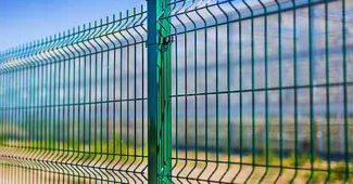 секционный решётчатый забор