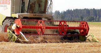 жатка для зерноуборочного комбайна