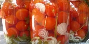 Консервирование помидоров, рецепты на зиму
