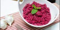 салат свекольный с чесноком рецепт