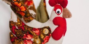 Поделки к новому году петуха, шьем мягкие игрушки сами